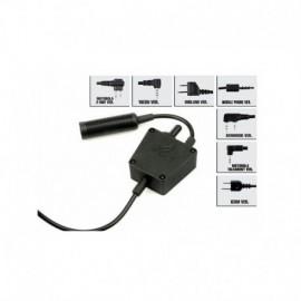 Z-TAC PTT E-SWITCH ICOM CONNECTOR