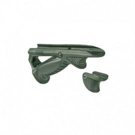 TT PTK + VTS grip kit OD Green (grip angolata + hand stop)
