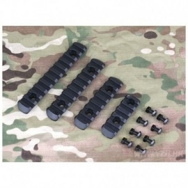 BD Polymer Rail Handguard Set Kit Black