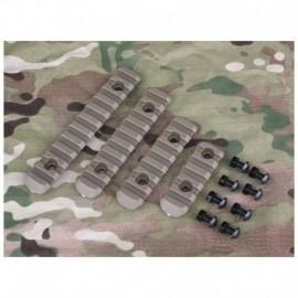 BD Polymer Rail Handguard Set Kit Tan