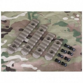 BD Polymer Rail Handguard Set Kit Tan