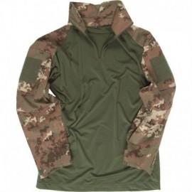 Mil-Tec Combat Tactical Shirt Vegetato