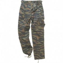 MFH Rip-Stop BDU Trousers Tiger Stripes