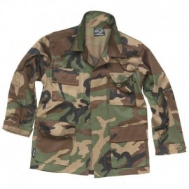 MIL-TEC BDU Jacket Kids Woodland