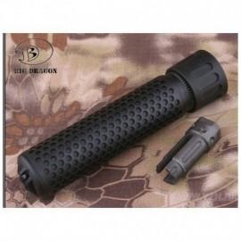 BD KAC QDC Quick Detach Suppressor Full Black