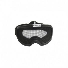 JS TACTICAL Protective NET Goggle Black