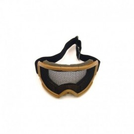 JS TACTICAL Protective NET Goggle TAN