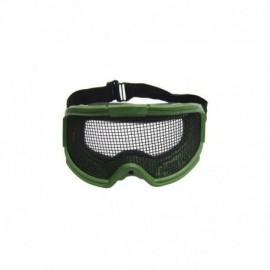 JS TACTICAL Protective NET Goggle OD Green