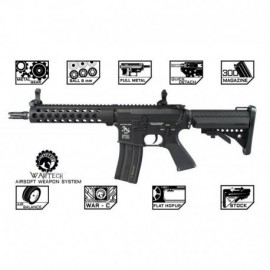 "WarTech M4 TRX Battle Rifle 9"" -Revo series- Full Metal"