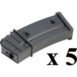 G&G 110R Magazine for GEC36 (G36) 5pcs/set