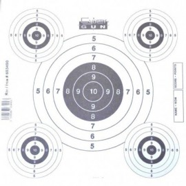 Swiss Arms Paper Target (50 pcs) for target with net 603404