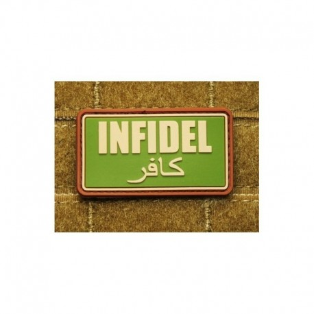 JTG Infidel  Rubber Patch MC