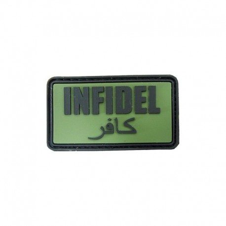 JTG Infidel  Rubber Patch OD