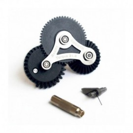 Modify Modular Gear Set SMOOTH 7mm Ver.2 / Ver.3 Speed 16.32:1 + Gear Key