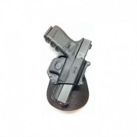 Fobus Mini Fondina con pad per Glock 17 / 19 / 22 / 23 / 31 / 32 / 34 / 35