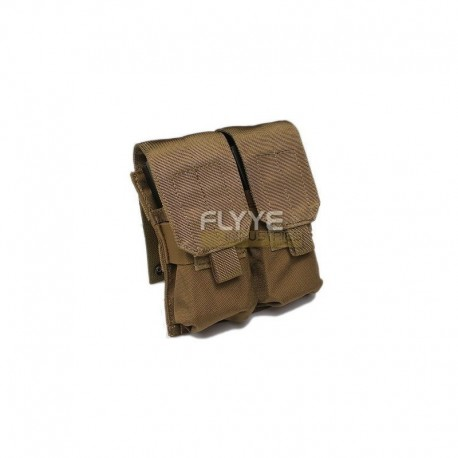 FLYYE Double M4/M14 Mag Pouch CB