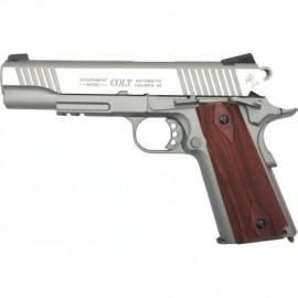 Colt 1911 Rail Gun® Silver Co2 Blowback