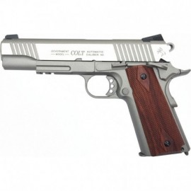 Colt 1911 Rail Gun® Silver Co2 Blowback