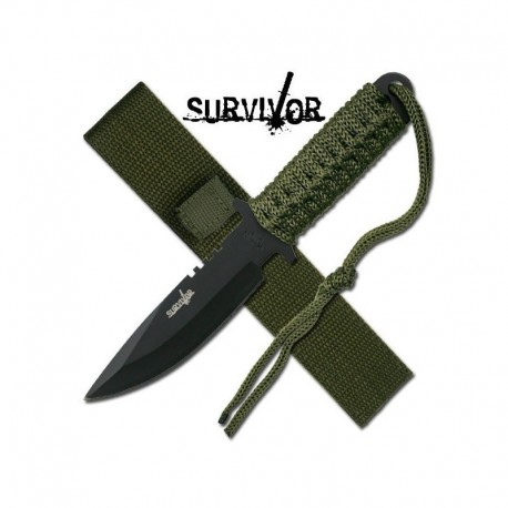 "Coltello Military Paracord ""Survivor"""