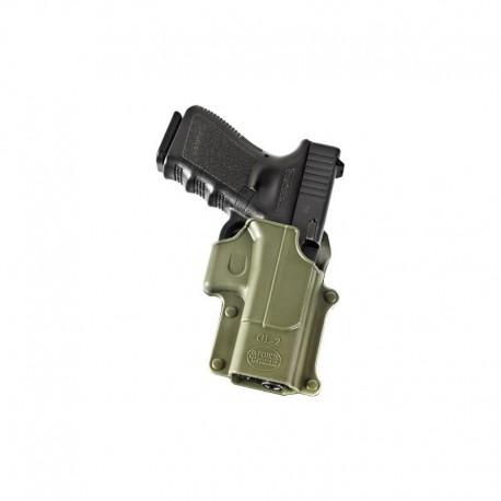 Fobus Belt Holster for Glock 17 / 19 / 22 / 23 / 31 / 32 / 34 / 35 OD Green