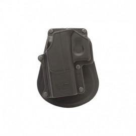 Fobus Fondina sinistra con pad per Glock 17 / 19 / 22 / 23 / 31 / 32 / 34 / 35