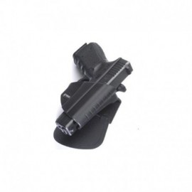 Fobus Fondina 2° livello per cinturone per Glock 17 / 19 / 22