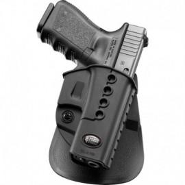 Fobus Fondina ND con pad per Glock 17 / 19 / 22 / 23 / 31 / 32 / 34 / 35