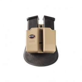 Fobus Double Mag Pouch for Glock Khaki