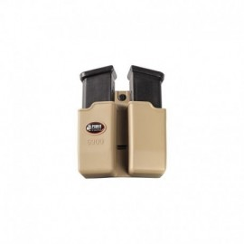 Fobus Belt Double Mag Pouch for 9mm Khaki