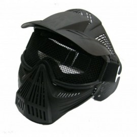 JS Tactical complete airsoft mask Black