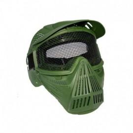 JS Tactical Maschera Completa verde