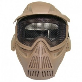 JS Tactical complete airsoft mask TAN