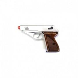 HFC Pistola a Gas Fissa Silver