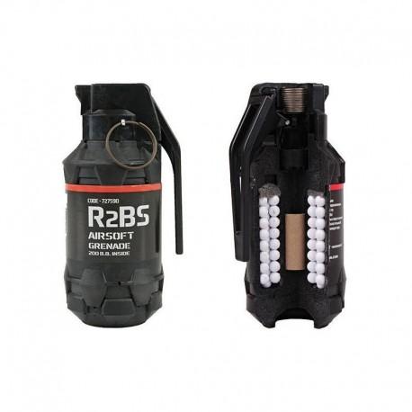 Airsoft Pyrotechnics R2BS Airsoft Hand Grenade - Tango Softair
