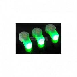 FMA S-Lite Luce di ricambio Verde x3