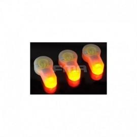 FMA S-Lite Luce di ricambio Orange x3