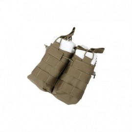 TMC Open Top Double Magazine Pouch CB