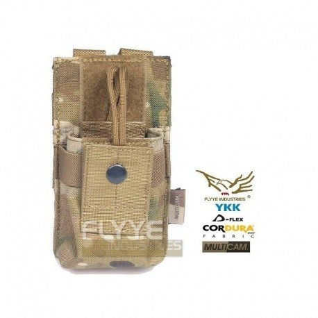 FLYYE MOLLE Short Radio Pouch Multicam ®