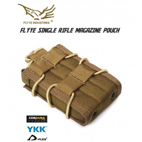 FLYYE BIB Single Rifle Magazine Pouch CB