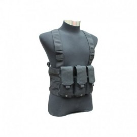 TMC M4 Chest Rig LE 6 Mag Black