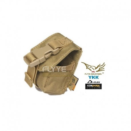 FLYYE Single Frag Grenade Pouch CB