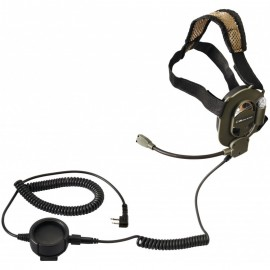BOW M-Tactical Cuffia Militare attacco Kenwood