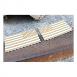 TMC USA Flag Reflective PVC IR Patch Set ( TAN )
