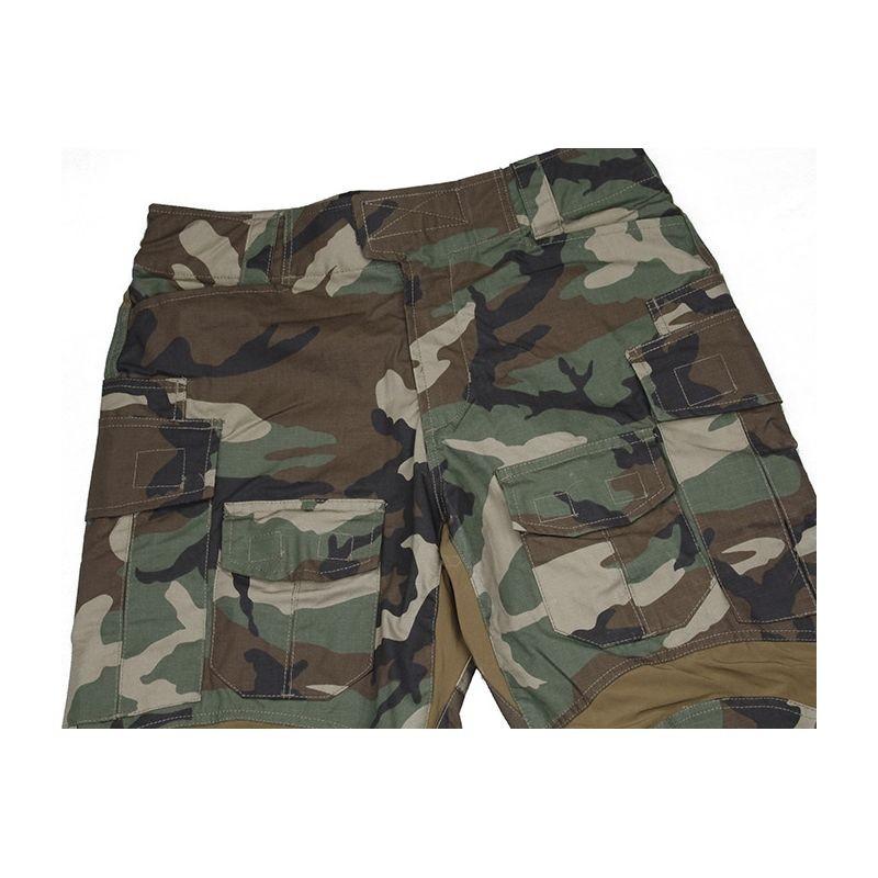 84fee62579528 TMC G3 Combat 3D Pants Woodland - Tango Softair