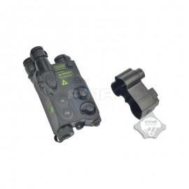 FMA AN/PEQ extendable battery holder Black