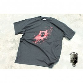 TMC Gildan Red Skull Fight T-Shirt