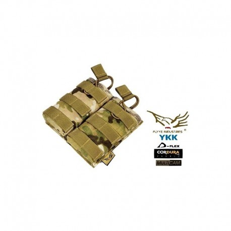 FLYYE EV Universal Double Mag Pouch Multicam ®