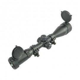 Bravo Sniper Ottica 3-9X50E Mil-Dot illuminato rosso / verde / blu