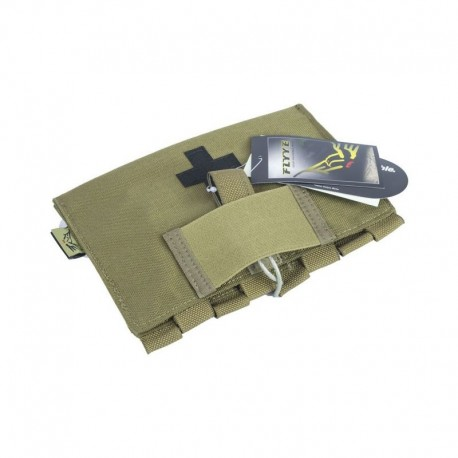 3581d58326 FLYYE LT9022 Medic First Aid Kit Pouch Coyote Brown - Tango Softair