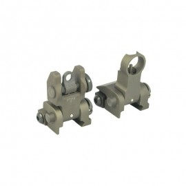 BD PRI style flip up Sight set tan